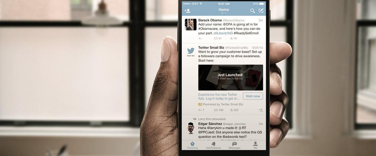 aprenda a fazer anuncios no twitter