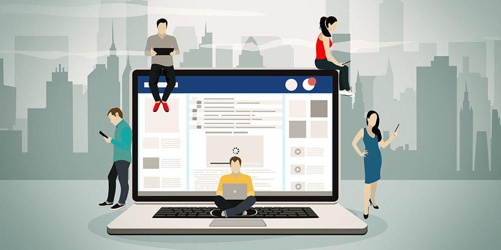 as redes sociais mais usadas pelos seus clientes