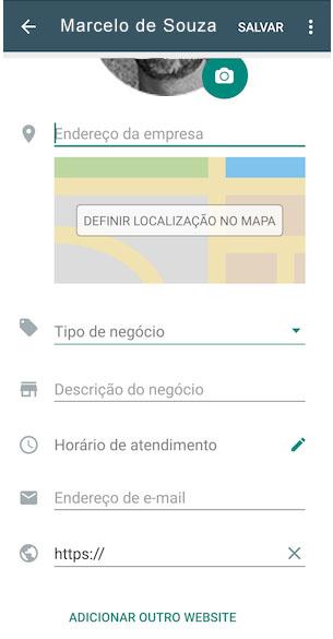 Configuração do WhatsApp Business