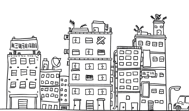 prédios imobiliárias